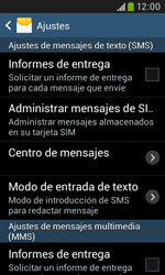 Samsung S7580 Galaxy Trend Plus - MMS - Configurar el equipo para mensajes de texto - Paso 6