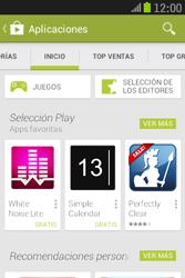 Samsung S6310 Galaxy Young - Aplicaciones - Descargar aplicaciones - Paso 5