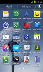 Samsung S7560 Galaxy Trend - WiFi - Conectarse a una red WiFi - Paso 3