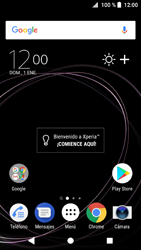 Sony Xperia XZ1 - Connection - Transferir archivos a través de Bluetooth - Paso 1