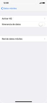 Apple iPhone X - MMS - Configurar el equipo para mensajes multimedia - Paso 5