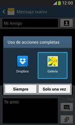 Samsung S7580 Galaxy Trend Plus - MMS - Escribir y enviar un mensaje multimedia - Paso 16