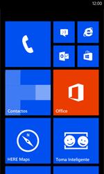 Nokia Lumia 520 - Internet - Activar o desactivar la conexión de datos - Paso 1