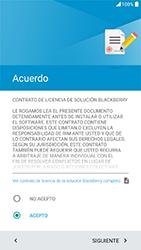 BlackBerry DTEK 50 - Primeros pasos - Activar el equipo - Paso 16