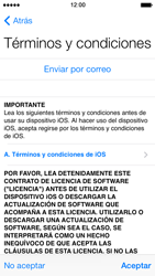 Apple iPhone 5s - Primeros pasos - Activar el equipo - Paso 12