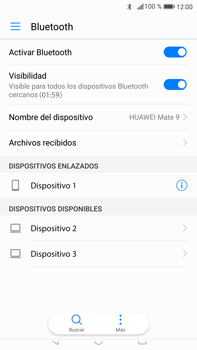 Huawei Mate 9 - Connection - Conectar dispositivos a través de Bluetooth - Paso 7