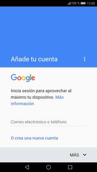 Huawei Mate 9 - E-mail - Configurar Gmail - Paso 8