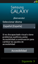 Samsung S7580 Galaxy Trend Plus - Primeros pasos - Activar el equipo - Paso 3