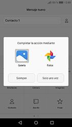 Huawei Y6 (2017) - MMS - Escribir y enviar un mensaje multimedia - Paso 14