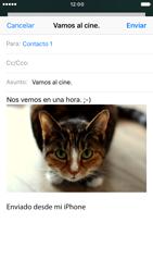Apple iPhone 6s iOS 10 - E-mail - Escribir y enviar un correo electrónico - Paso 14