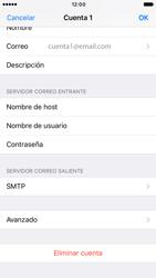 Apple iPhone 6s iOS 10 - E-mail - Configurar correo electrónico - Paso 17