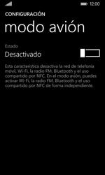 Nokia Lumia 635 - Red - Activar o desactivar el modo avión - Paso 5