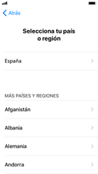 Apple iPhone SE - iOS 11 - Primeros pasos - Activar el equipo - Paso 8