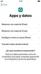 Apple iPhone 6s iOS 11 - Primeros pasos - Activar el equipo - Paso 16