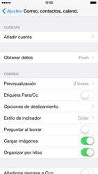 Apple iPhone 6 iOS 8 - E-mail - Configurar correo electrónico - Paso 4
