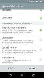 HTC One A9 - E-mail - Configurar Outlook.com - Paso 9