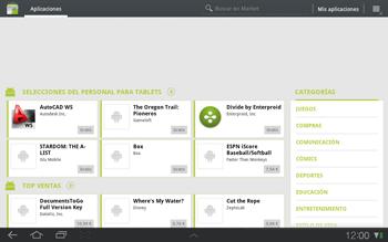 Samsung P7500 Galaxy Tab 10-1 - Aplicaciones - Tienda de aplicaciones - Paso 15