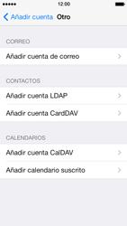 Apple iPhone 5s - E-mail - Configurar correo electrónico - Paso 6