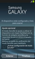 Samsung I8260 Galaxy Core - Primeros pasos - Activar el equipo - Paso 16