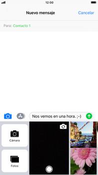 Apple iPhone 8 Plus - MMS - Escribir y enviar un mensaje multimedia - Paso 11