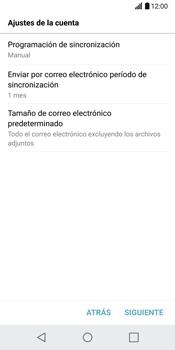 LG G6 - E-mail - Configurar Yahoo! - Paso 9