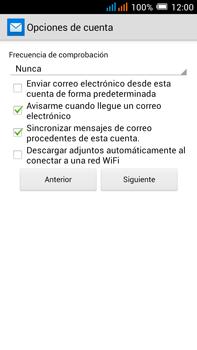 Alcatel Pop C9 - E-mail - Configurar Yahoo! - Paso 10