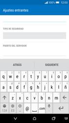 HTC One M9 - E-mail - Configurar correo electrónico - Paso 10