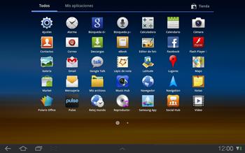 Samsung P7500 Galaxy Tab 10-1 - E-mail - Escribir y enviar un correo electrónico - Paso 3