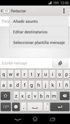 Sony D2203 Xperia E3 - MMS - Escribir y enviar un mensaje multimedia - Paso 6