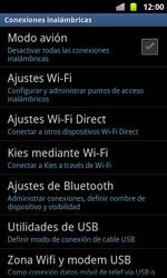 Samsung I8160 Galaxy Ace II - Red - Activar o desactivar el modo avión - Paso 5