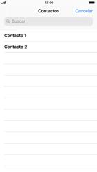 Apple iPhone 6s iOS 11 - MMS - Escribir y enviar un mensaje multimedia - Paso 5