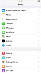 Apple iPhone 6 Plus iOS 8 - MMS - Configurar el equipo para mensajes multimedia - Paso 10