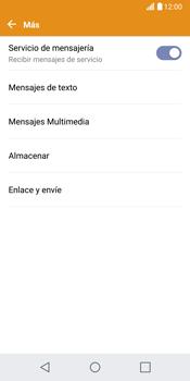 LG G6 - MMS - Configurar el equipo para mensajes de texto - Paso 6