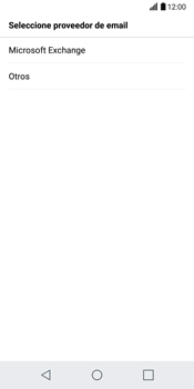 LG G6 - E-mail - Configurar correo electrónico - Paso 6
