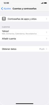Apple iPhone X - E-mail - Configurar Yahoo! - Paso 9