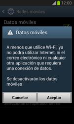 Samsung I8260 Galaxy Core - Internet - Activar o desactivar la conexión de datos - Paso 7