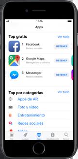 Apple iPhone SE - iOS 11 - Aplicaciones - Tienda de aplicaciones - Paso 4