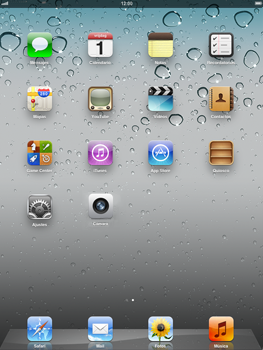 Apple iPad 2 - Internet - Ver uso de datos - Paso 1
