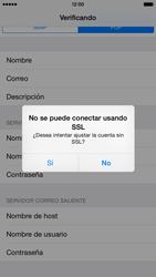 Apple iPhone 6 iOS 8 - E-mail - Configurar correo electrónico - Paso 15