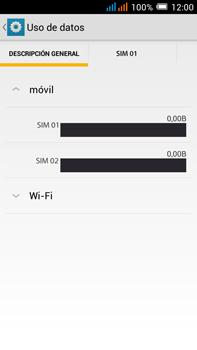 Alcatel Pop C9 - Internet - Ver uso de datos - Paso 5