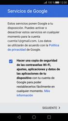 Huawei P8 - E-mail - Configurar Gmail - Paso 14