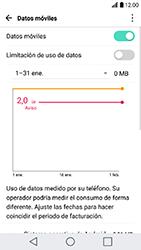 LG K10 (2017) - Internet - Ver uso de datos - Paso 7
