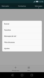 Huawei Ascend G7 - MMS - Configurar el equipo para mensajes de texto - Paso 5
