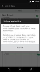 HTC One M8 - Internet - Ver uso de datos - Paso 9