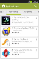 Samsung S6310 Galaxy Young - Aplicaciones - Descargar aplicaciones - Paso 7