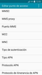 Samsung A500FU Galaxy A5 - MMS - Configurar el equipo para mensajes multimedia - Paso 12