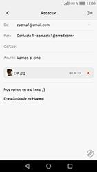Huawei Y6 (2017) - E-mail - Escribir y enviar un correo electrónico - Paso 17