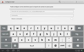 Samsung P7500 Galaxy Tab 10-1 - E-mail - Configurar correo electrónico - Paso 4