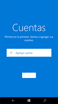 Microsoft Lumia 950 XL - E-mail - Configurar Outlook.com - Paso 5