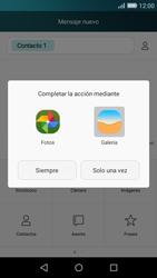 Huawei P8 Lite - MMS - Escribir y enviar un mensaje multimedia - Paso 13